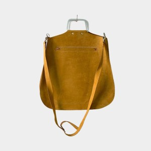 OB Wheat leather sling handbag – dot made