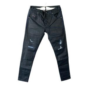 DSL Ducati deep blue wax jeans - dot made