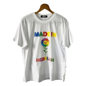 Made in Medellin white t-shirt - dot made
