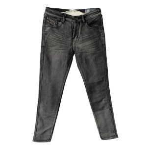 DSL Sleenker charcoal denim jeans - dot made