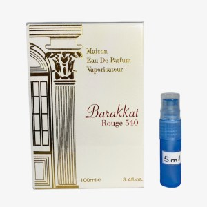 Barakkat Rouge 540 perfume 5ml sample