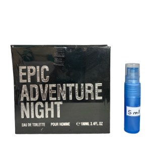 Epic Adventure Night Perfume 5ml sample
