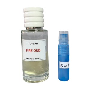 Toybah Fire Oud perfume 5ml sample
