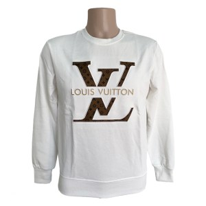 LV Crewneck white sweater