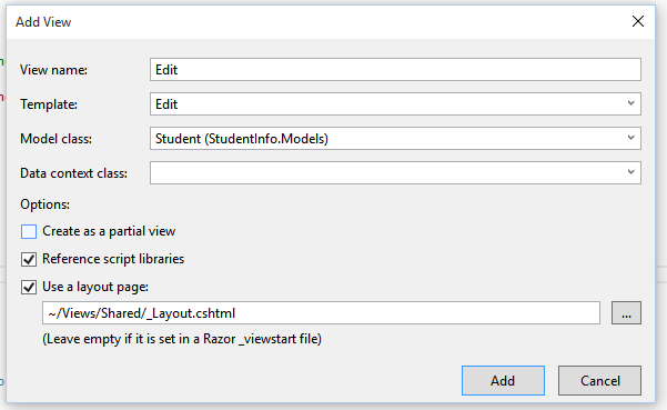 Editing data in ASP NET MVC with HttpPost • Dot Net For All