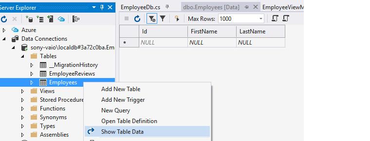Entity Framework Application Using Code First • Dot Net For All