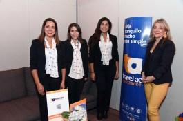 María Paz Jansana, directora comercial Travel Ace y equipo