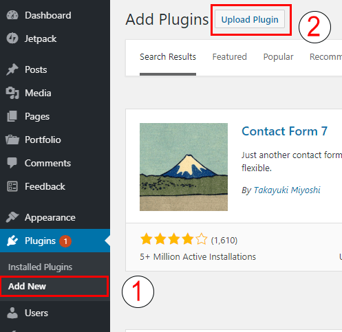 Upload and Install WordPress Plugin