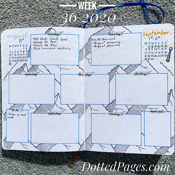 Week 36 2020 Spread
