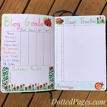 October Blog Goals
