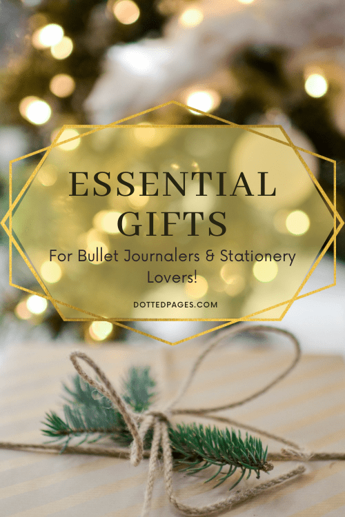 Christmas Gifts for Bullet Journalers