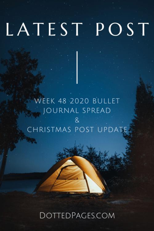 Week 48 2020 Pin