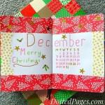 December Bullet Journal Setup Cover Page