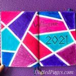 2021 Bullet Journal Setup Cover
