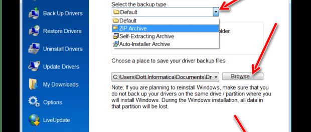 Come fare il backup dei driver prima di formattare un pc