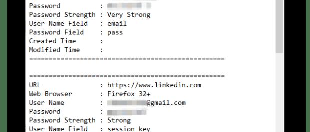 rubare le password dei browser