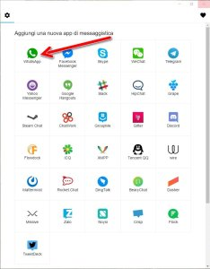 all-in-one-messenger-seleziona-whatsapp