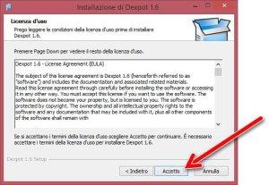 dexpot install 1