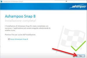 Ashampoo Snap 8 Installation