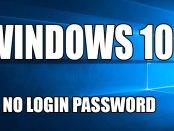 Disattivare la password di accesso a Windows 10