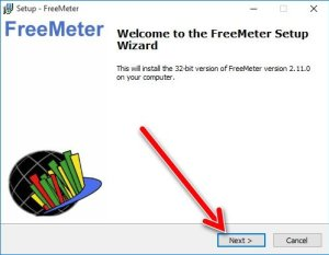 FreeMeter Setup 1