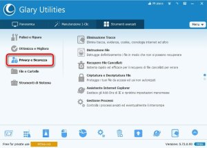 Glary Utilities 5 Privacy e Sicurezza