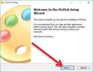 PicPick Setup Wizard