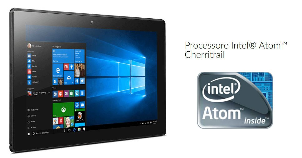 Processore Intel Atom Cherritrail