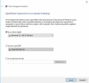 Backup Windows 10