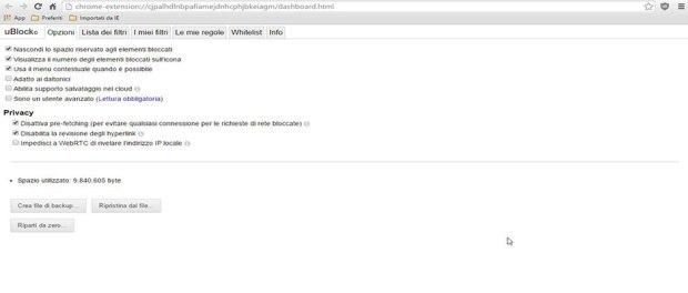 ublock google chrome