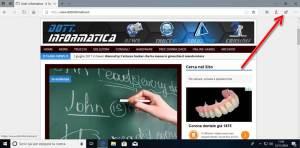 Condividere pagine web