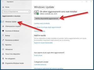 Forzare gli aggiornamenti di Windows 10
