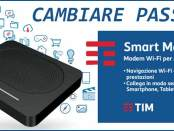 Cambiare password Wi-Fi Smart Modem Plus Tim