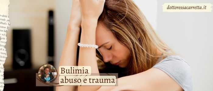 bulimia abuso trauma