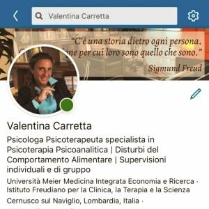 Linkedin: Psicostrumenti Dott.ssa Carretta Psicologa Cernusco