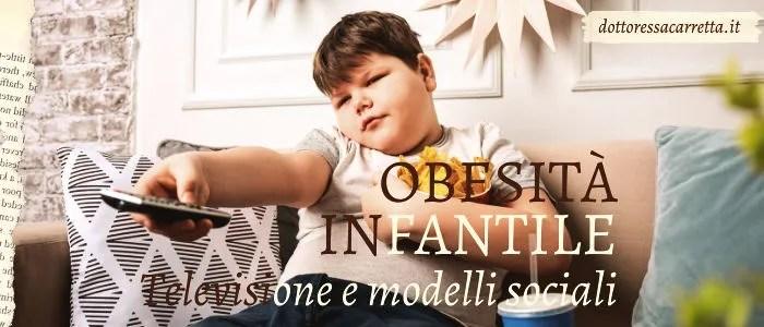Obesità infantile un problema sociale