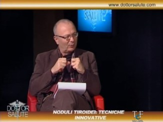 Dottor salute, noduli tiroidei e tecniche innovative, due scienziati in studio