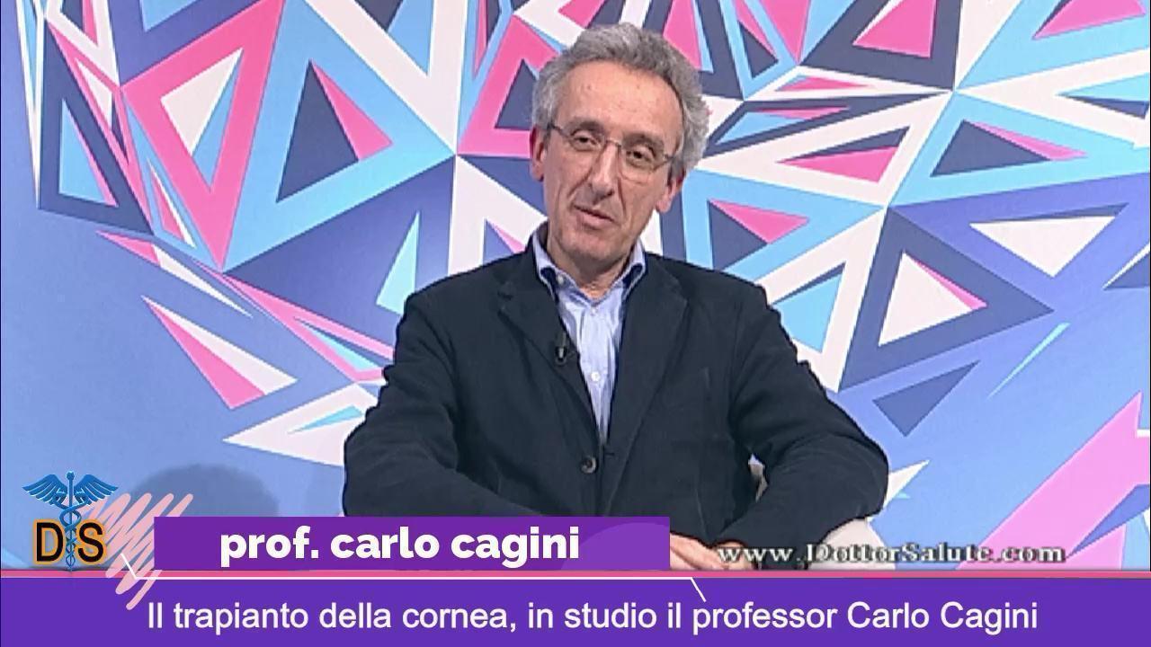 Il trapianto della cornea, a Dottor salute il professore Carlo Cagini