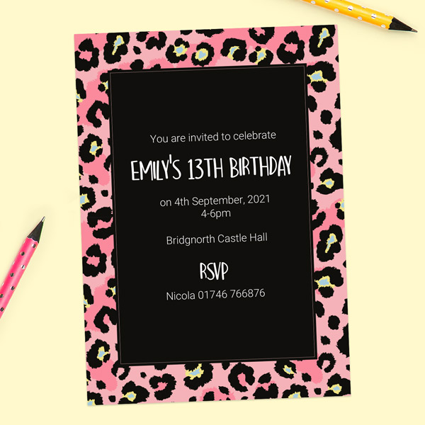 how to write a birthday invitation to a