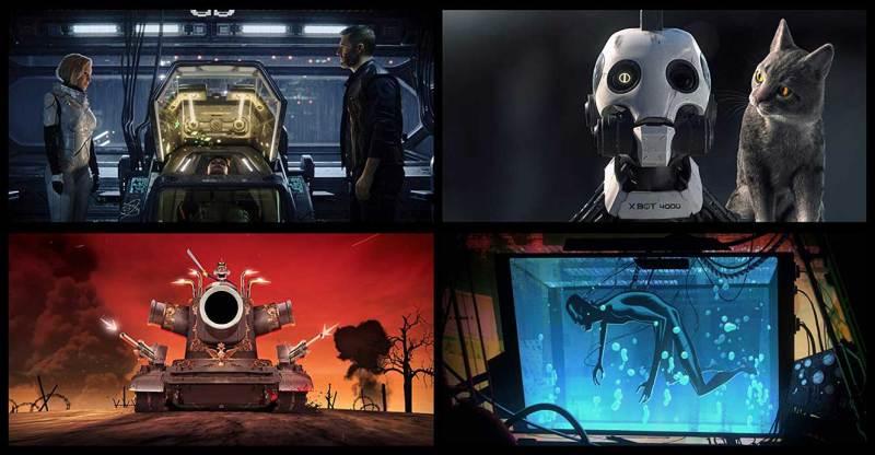 รีวิว Love, Death & Robots กลไกล หัวใจ ดับสูญ TV Series (2019– )