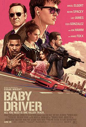 Baby Driver เบบี้ ไดร์เวอร์ จี้ เบบี้ ปล้น (2017)