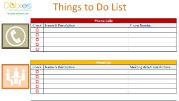 To do list (Business Version)