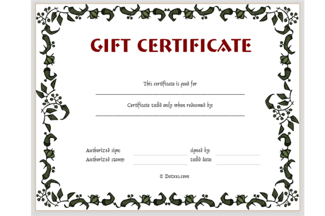 Gift certificate template mac pages free images certificate free certificate templates for mac pages cover letter sample free printable gift yadclub Images