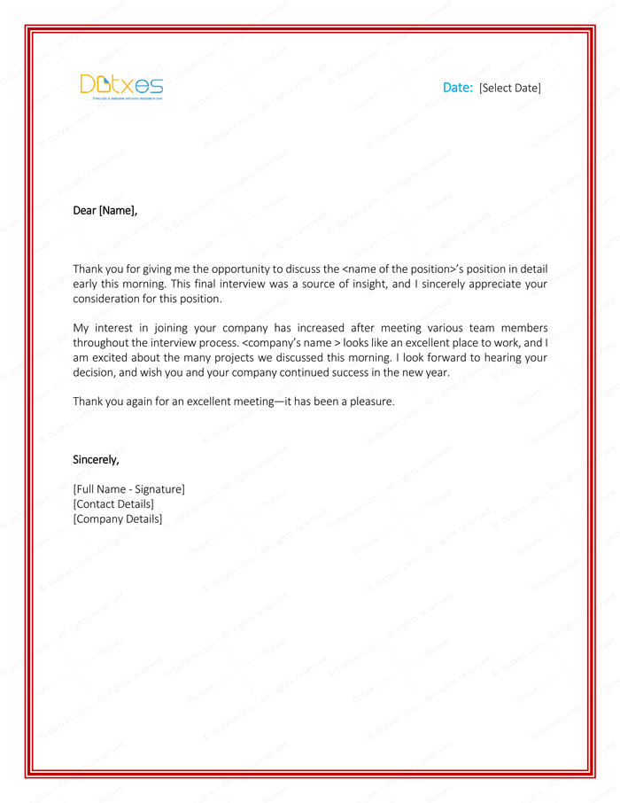 Thank You Letter To Boss 8 Plus Best Samples And Templates