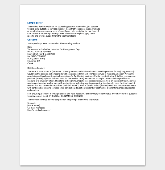 Claims Adjuster Cover Examples Letter