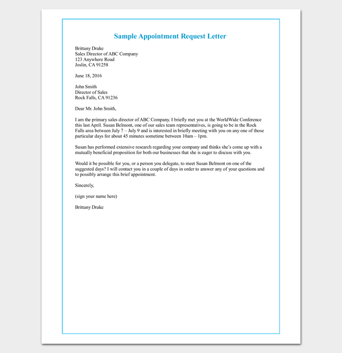 payment request letter to client