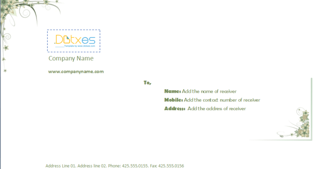 Business-envelope-template-(4.14-x-9.5)