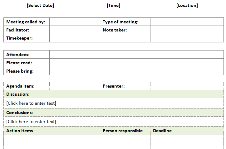 Informal-Meeting-Minutes-Template-(Form)