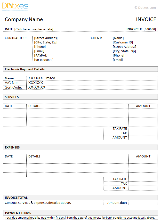 Contractor-Invoice-Template-(With-Bank-Transfer-Method,-in-Microsoft-Word)
