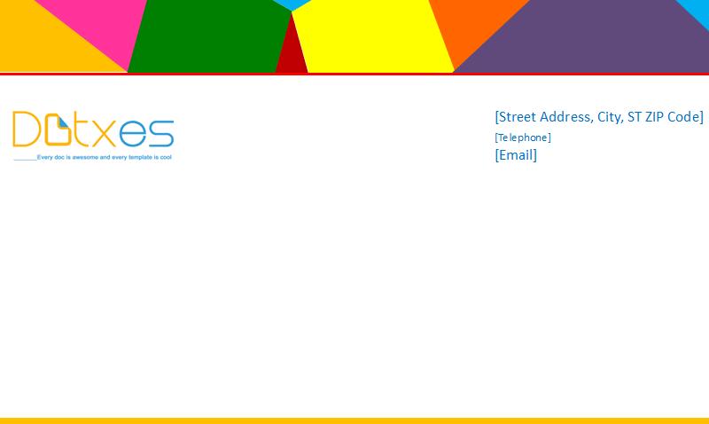 Business letterhead (Multi Color Design) Featured Image